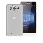 Phonix Custodia gel per Microsoft Lumia 950 bianca