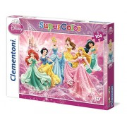 Clementoni 27885 - Princess Pure Of Hearth, Bright Of Spirit - Puzzle 104 pezzi