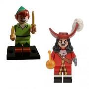 Lego Disney Minifigures (71012) Peter Pan & Captain Hook 2 Pack