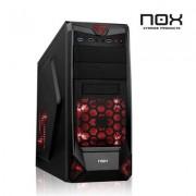 Nox Caja Semitorre NX 200 Negra
