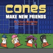 Cones Make New Friends by Chris Madeley