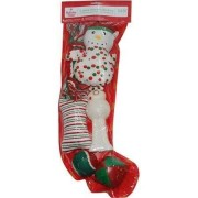 Holiday Time 6-Piece Dog Toy Stocking (Packaging May Vary) by Holiday Time