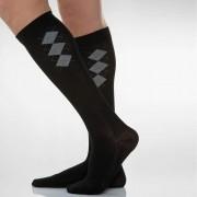 COTTON SOCKS - Dokolenice za muškarce sa masažom stopala 140 DEN (18-22 mmHg) British