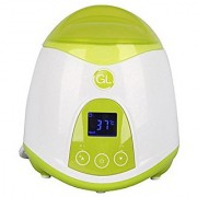 Gland Bottle Warmer Quick Bottle Warming System with LCD Display (Green)