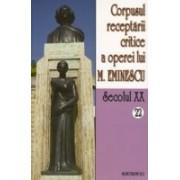 Corpusul receptarii critice a operei lui Mihai Eminescu. Sec XX. vol. 22-23, perioada august - septembrie 1919.