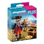 Playmobil 4783 - Pirate With Treasure Chest
