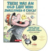 There Was an Old Lady Who Swallowed a Chick! - Audio Library Edition by Lucille Colandro