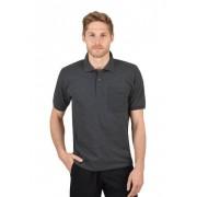 Trigema Herren Polo-Shirt mit Brusttasche Größe: M Material: 100 % Baumwolle, Ringgarn supergekämmt Farbe: anthrazit-melange