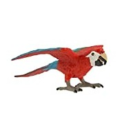 "Safari S263929 ""Wings of the World Green-winged Macaw"" Miniature"