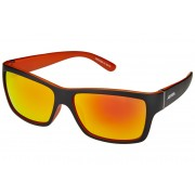 Alpina Kacey Brille black matt-orange/orange mirror Sonnenbrillen