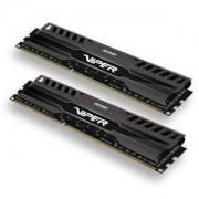 Memorie Patriot Viper 3 Black Mamba 16GB (2x8GB) DDR3, 1866MHz, PC3-14900, CL10, XMP, Dual Channel Kit, PV316G186C0K