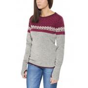Salewa Fanes WO Midlayer Donne grigio/rosso 36 Pullover