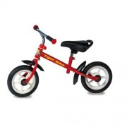 Biemme 1604r - primipassi tiger bike, 78x44x53 cm, rosso