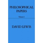 Philosophical Papers: v.1 by David Lewis
