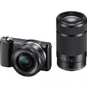 Sony aparat fotograficzny Alpha a5000 + 16-50+ 55-210 (ILCE5000Y), czarny - BEZPŁATNY ODBIÓR: WROCŁAW!