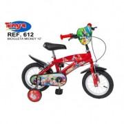 "Bicicleta 12"" Mickey Mouse"