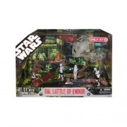 Star Wars 30th Anniversary Saga 2007 Exclusive Action Figure Mega-Pack The Battle of Endor by Hasbro (English Manual)
