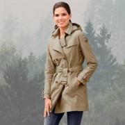 Aigle Wetter-Trenchcoat, 42 - Beige