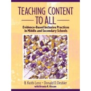 Teaching Content to All by B. Keith Lenz