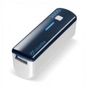 Външна батерия за телефон 2600 mAh (синя)