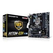 Gigabyte GA-H170M-D3H Scheda madre, socket LGA 1151, DDR4, Intel H170 Chipset