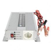 HQ 600W-os inverter, beépített akkumulátortöltővel (HQ-INV600C/12)