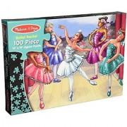 Melissa & Dougs 100 Piece Ballet Recital Jigsaw Puzzle