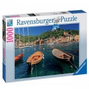 Пъзел от 1000 части - Harbor in Portofino, Italy, Ravensburger, 702070