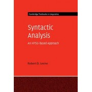 Syntactic Analysis by Robert D. Levine