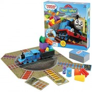 Thomas Train And Friends Tipsy Topsy Turvy Board Game - Silly Stacking Fun by Cardinal Industries