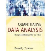 Quantitative Data Analysis by Donald J. Treiman