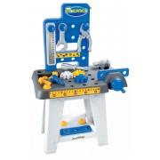 Écoiffier masă de lucru pentru copii Mecanics 2404 albastru-galben