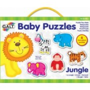 Baby Puzzle Animale din jungla 2 piese