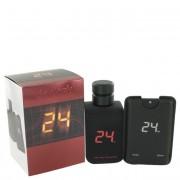 ScentStory 24 Go Dark The Fragrance Jack Bauer Eau De Toilette Spray 3.4 oz / 100.55 mL + Spray 0.8 oz / 23.65 mL 500204