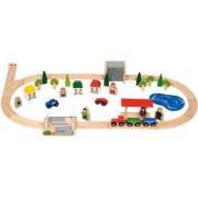 Treinset Landleven (50 delig) BigJigs BJT011