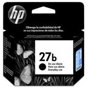 Cartucho de Tinta Preto HP 27b Original - HP