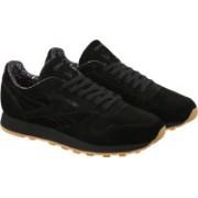 Reebok CL LEATHER TDC Sneakers(Black)
