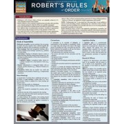 Robert's Rules of Order by BarCharts Inc