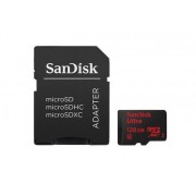SanDisk MicroSDXC Ultra 128GB 80MB/s UHS-1 m/adapter