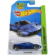 Hot Wheels - 2014 HW Workshop - HW All-Stars 198/250 - Pagani Huayra (blue)