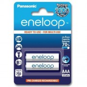 Panasonic 2 x akumulatorki Panasonic Eneloop R03 AAA 800mAh BK-4MCCE/2BE (blister)