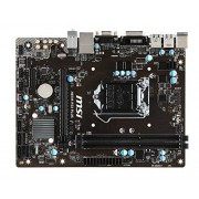 MSI H81 M-P33 PLUS Carte mère Intel H81 Socket H3 (LGA 1150) Micro ATX DIMM, DDR3-SDRAM, Dual, Intel, 4 Go, 8 Go, PC
