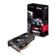 Zaffiro 11256 - 02 - 20 G 8 GB scheda grafica Radeon RX 470 Nitro + OC 14 mm Polaris, Nero (PCIe 3.0, 8000 MHZ GDDR5, 1121 MHz GPU, 1260 MHz Boost, 2048 flussi)