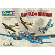 Revell 05711 - Battle of Britain Kit di Modello in Plastica, Scala 1:72