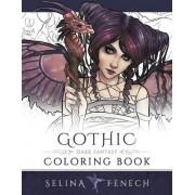 Gothic - Dark Fantasy Coloring Book by Selina Fenech