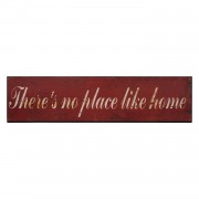 Afbeelding Place Like Home - rood, My Flair