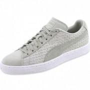 Chaussures Suede Classic Emboss Beige Homme Puma
