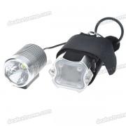 MJ-836 HA-III SSC P7-2-Mode 900-Lumen LED Bike Light Set (4 * 18650)