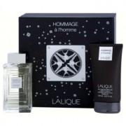 Lalique Hommage a L'Homme coffret I. Eau de Toilette 100 ml + gel de duche 150 ml