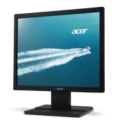 Monitor Acer V176Lbmd, LED, 17 (43 cm), Format: 5:4, Resolution: SXGA (1280x1024), Response time: 5 ms, Contrast: 100M:1, Brightness: 250 cd/m2, Viewing Angle: 170°/160°, VGA, DVI (w/HDCP), Energy Star 6.0, TCO6.0, Speakers, Acer ComfyView, Acer EcoD